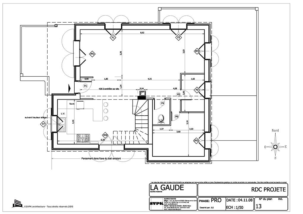 Surélévation D Une Habitation Svpk Architecture